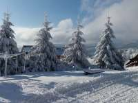 zima - ubytování Horní Malá Úpa