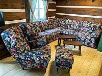 Chalupa Rokytnice společenská místnost - ubytování Rokytnice nad Jizerou - Horní Rokytnice