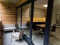 Balkón - apartmán ubytování Harrachov