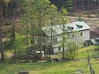 Hořická chata, pohled ze sjezdovky, detail - ubytování Černý Důl