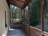 Hořická chata, terasa - k pronajmutí Černý Důl