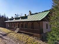 Hořická chata, terasa - ubytování Černý Důl