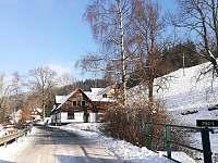 příjezdová cesta - Dolní Lysečiny