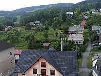 Pohled na město z vyhlídky na radniční věži - Rokytnice nad Jizerou