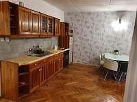 kuchyňská linka - pronájem apartmánu Svoboda nad Úpou