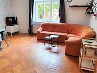obývací pokoj - apartmán ubytování Svoboda nad Úpou