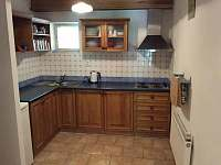 Kuchyň - chata k pronajmutí Horní Maršov