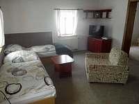 obývací pokoj - apartmán ubytování Paseky nad Jizerou