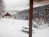 výhled na hory - apartmán k pronajmutí Paseky nad Jizerou