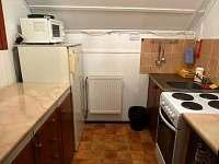 kuchyňka pokojů v patře