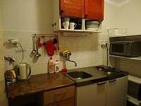 kuchyňka v přízemí