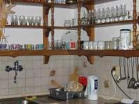 kuchyň - Hořejší Vrchlabí