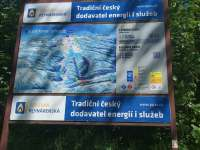 Mapa ski areálu Kamenec