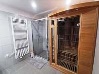 Sauna v koupelně v přízemí - Černý Důl