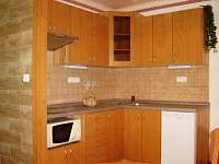 Rozárka -  apartmán - kuchňský kout