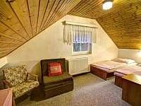 Pokoj č.4 horní ložnice Chalupa u Beranů