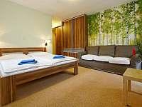 Čtyřlůžkový pokoj - ubytování Harrachov