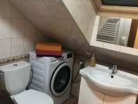 Koupelna - apartmán k pronajmutí Lánov