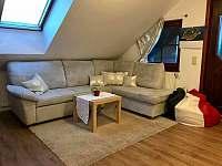 Obýváček - apartmán ubytování Lánov