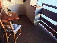 Teráska - apartmán k pronajmutí Lánov