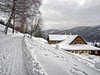Roubenka Kristýnka v zimě - Pec pod Sněžkou