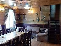 Společenská místnost - chata ubytování Harrachov