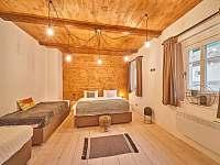 Apartmán 2 - ložnice - pronájem chalupy Horní Maršov - Temný Důl