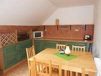 Kuchyň. - apartmán ubytování Semily - Nouzov