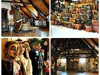 Muzeum Semily stálá expozice - apartmán k pronájmu