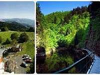 Riegrova stezka, Chata Kozákov- rozhledna,  Bozkovské jeskyně