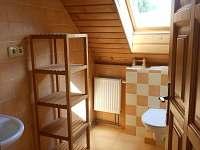 Wc s umyvadlem - apartmán k pronájmu Semily - Nouzov