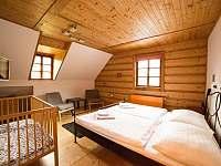 Dvoulůžkový pokoj s dětskou postýlkou - Harrachov