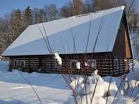 Apalucha v zimě - chalupa ubytování Rudník