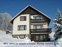 ubytování Ski areál Harrachov - Amálka Apartmán na horách - Vysoké nad Jizerou - Sklenařice