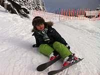 ideální lyžování pro děti - Velká Úpa