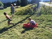 letní sáňkování - chalupa k pronajmutí Velká Úpa