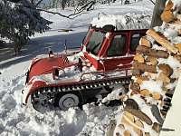 naše rolba Snowtrac ST4 - Velká Úpa