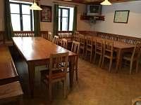 společenská místnost - pronájem chalupy Velká Úpa