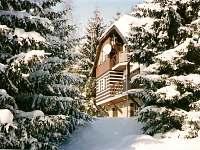Chata Labaika, zimní pohoda