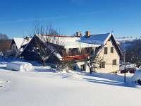 zima 2017 - chalupa ubytování Vysoké nad Jizerou