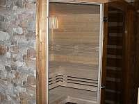 finská sauna - chata k pronájmu Rudník