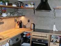 kuchyň - chata ubytování Rudník