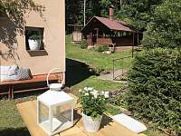 Okolí domu - apartmán ubytování Bolkov