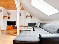 Obývací pokoj - apartmán ubytování Čistá v Krkonoších