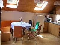 Obytná kuchyň - apartmán ubytování Svoboda nad Úpou
