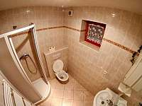 koupelna v apartmánu č. 1