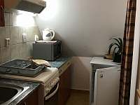 kuchyňský kout v apartmánu č. 4