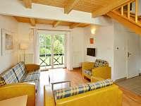 obývací pokoj - chata k pronajmutí Čistá