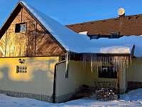 Chalupa Nemojov - v zimě 3 - ubytování Nemojov - Starobucké Debrné