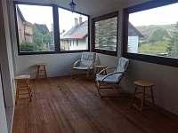 Relax zimni terasa - apartmán ubytování Poniklá